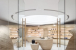Zens Brand Store In Beijing China World Trade Center Tower by CUN Design