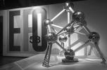 A brüsszeli Atomium (1958) makettje