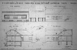 Pap Ignác házának terve, 1935. Forrás: DMJV Polgármesteri Hivatala, Főépítészi Iroda, Építészeti Archívum – Mikrofilmtár