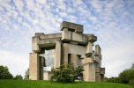 Fritz Wotruba: Szentháromság templom, Bécs, 1971–1976. Fotó: Wolfgang Leeb, 2011