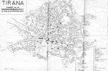 Tirana térképe 1917-ben. Forrás: www.zonu.com