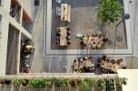 Szabadtéri étkező, Siedlung Heizenholz, Zürich, 2012, építészek: Adrian Streich Architekten © Katrin Simonett/VG Bild-Kunst, Bonn 2017
