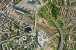 Rem Koolhaas (OMA): Euralille beépítési terv, Lille, 1989-1994