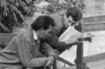 Tóth Sándor és Dávid Ferenc Sopronban, 1968. Fotó: Adorjáni Attila