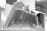 Alvar Aalto: Templom, Riola, 1966, modellfotó: Kovács Péter