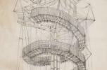 Zalotay Elemér: Megastruktúra, 1996, Reprodukció: Hajdú József