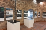 A II. Építészeti Nemzeti Szalon kiállítása a kőszegi Öregtoronyban. Fotó: Botzheim Bálint