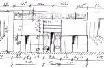 Sírfelmérési manuálé a Guttman-féle síremlékről. A szerző rajza
