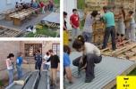Granadai közösségi műhely építése