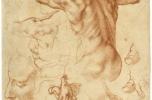Tanulmány a Líbiai szibüllához, 1511-12
