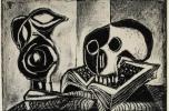 Fekete korsó és halálfej, 1946, Tate Collection