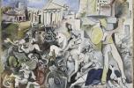 A szabin nők elrablása, 1962, Pompidou Központ Gyűjteménye